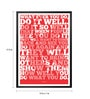Lab No.4 - The Quotography Department Paper & PU 13 x 1 x 17.5 Inch What Ever You Do, Do It Well Walt Disney Motivational & Inspirational Quote Poster