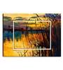 Hashtag Decor Lake on Sunset Engineered Wood 27 x 20 Inch Framed Art Panel