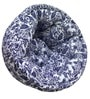 ORGANIC COTTON Lap Pouffe in Orange & Blue & White Colour by Reme