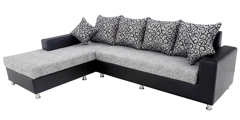Buy lemson rhs three seater sofa set and divan by elegance for Divan sofa set