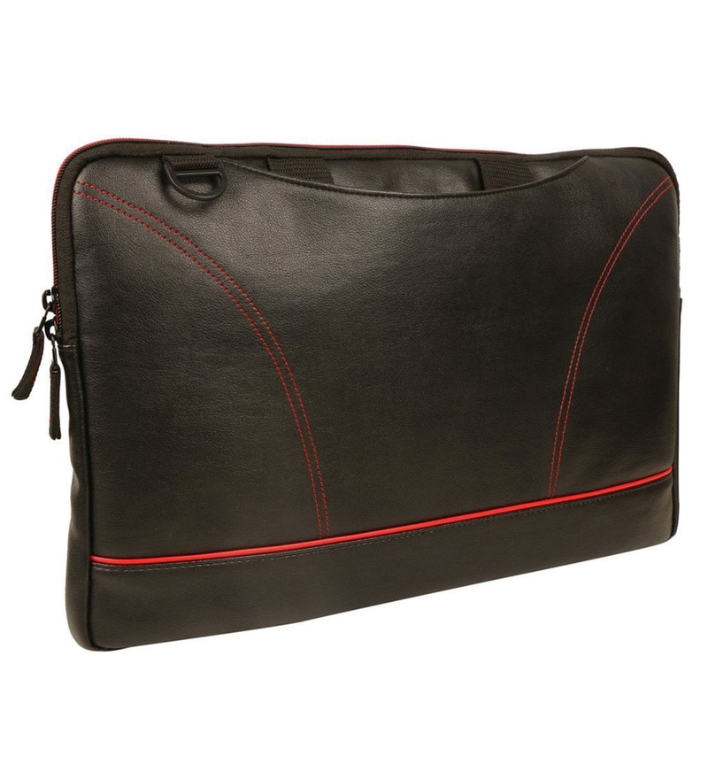 Leatherwala 16 Inch Synthetic Leather Laptop Bag
