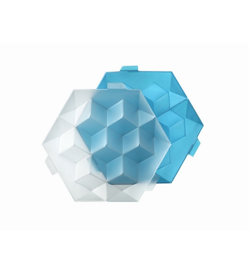 Lekue Blue Plastic Giant Ice Cube
