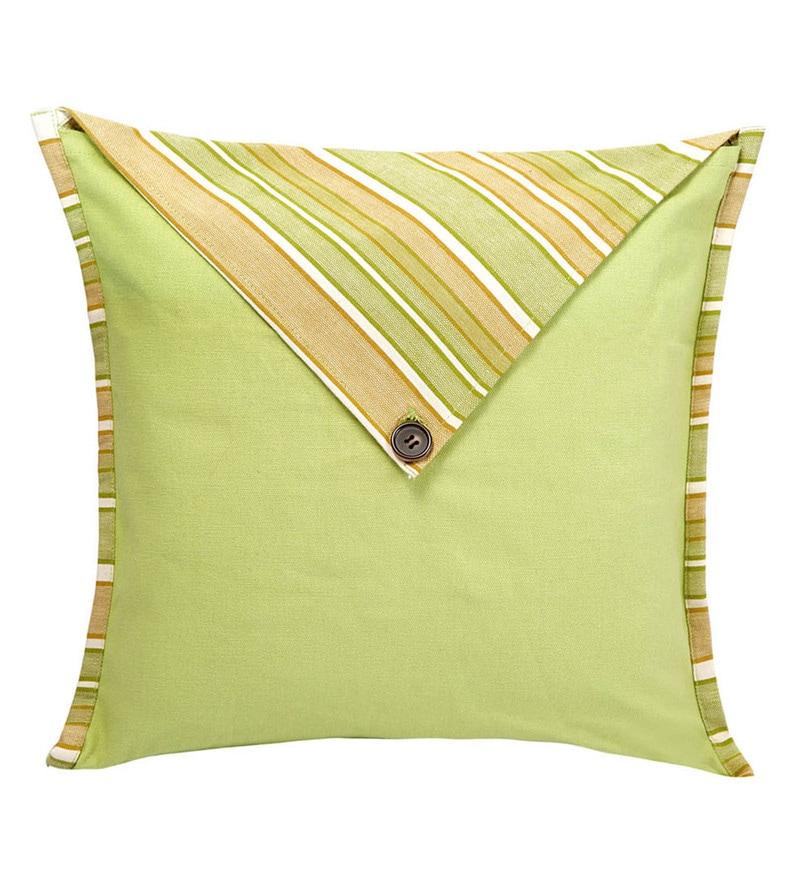 Lemon 100% Cotton Cushion Cover by Jodhaa