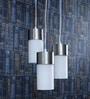 Glass Metal Pendent Multiples HL3858-3 by LeArc Designer Lighting