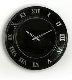 LifeEstyle Black MDF 7 X 7 Inch Handmade Wall Clock