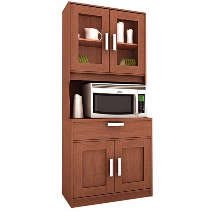 buy libya kitchen cabinet by housefull online hutch cabinets hutch cabinets pepperfry. Black Bedroom Furniture Sets. Home Design Ideas