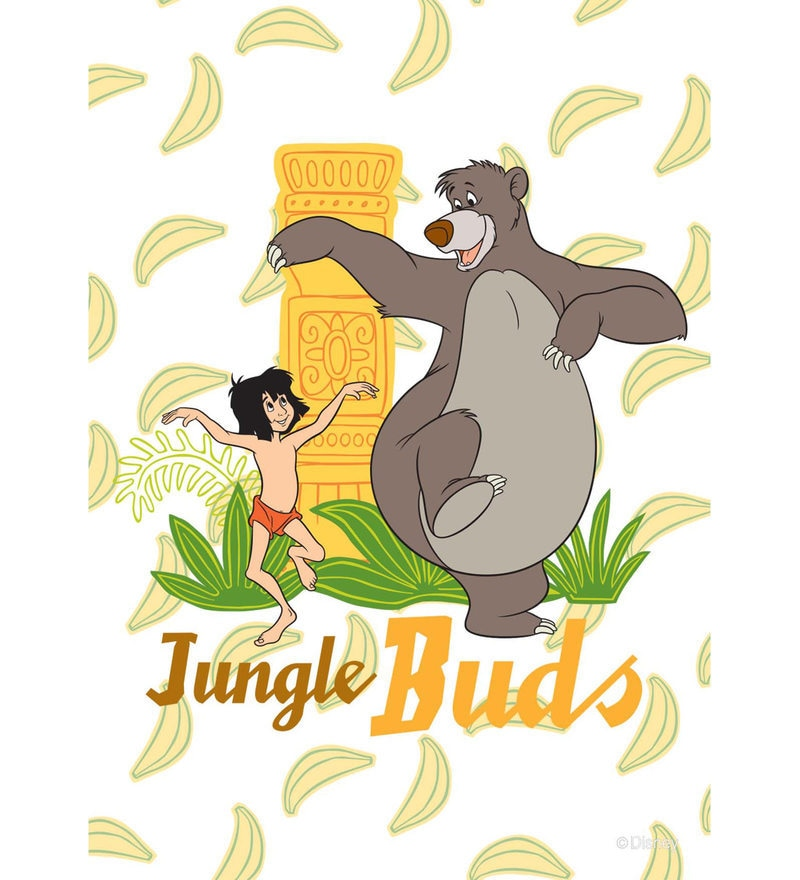 Licensed Jungle Book Jungle Buds Digital Printed with Laminated Wall Poster