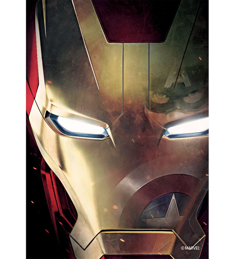Licensed Marvel Iron Man Digital Printed with Laminated Wall Poster by Orka
