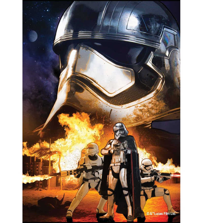 Licensed Starwars Storm Trooper Printed Digital Printed with Laminated Wall Poster