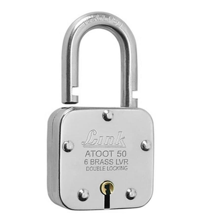 Link Atoot 50 mm Brass & Steel Padlock
