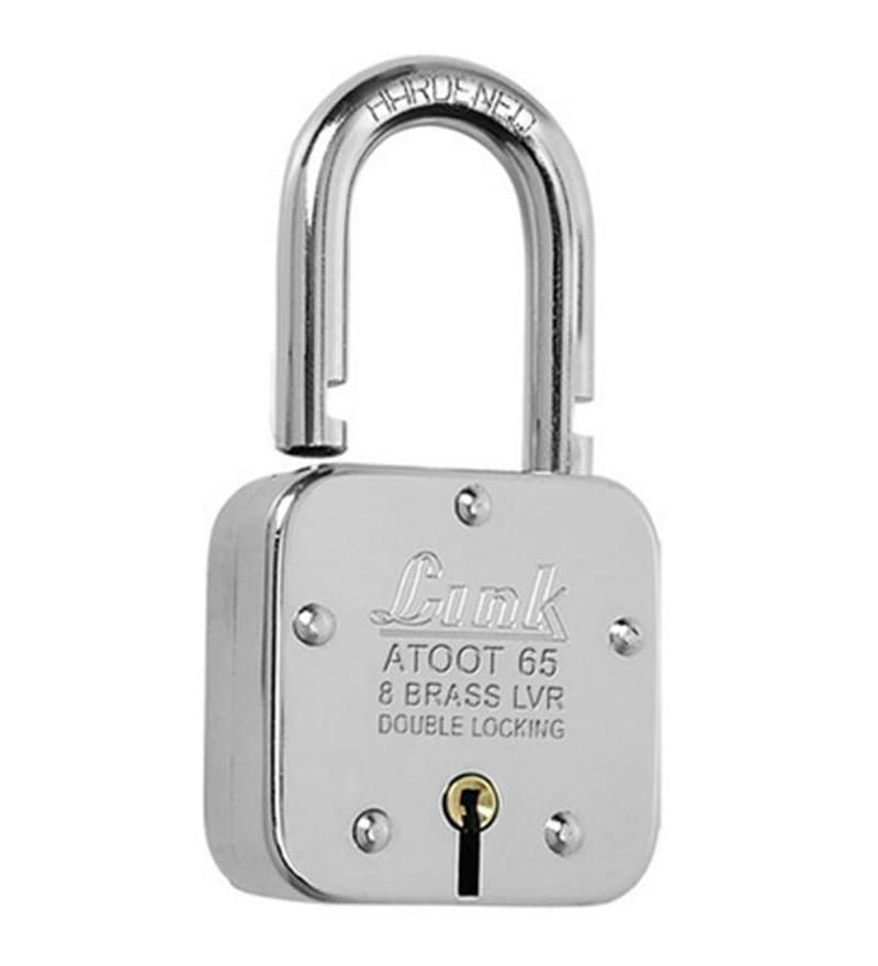 Link Atoot 65 mm Brass & Steel Padlock