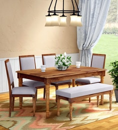 87d638c3779 Six Seater Dining Sets - Buy Six Seater Dining Sets Online in India ...