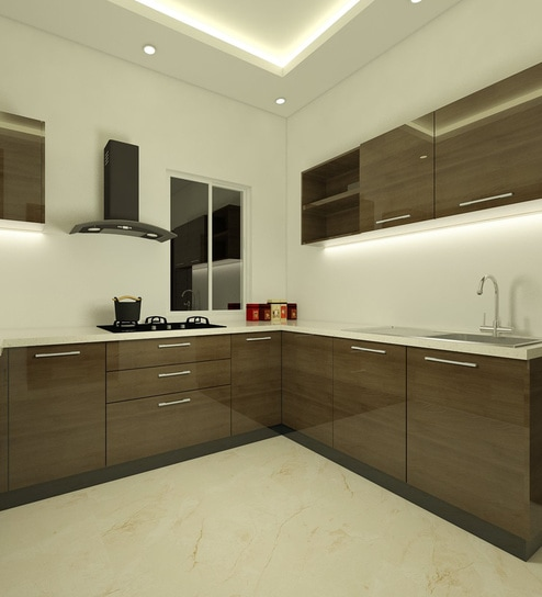 Modular Kitchen Designs Catalogue: Buy Modular Kitchen Design Online In