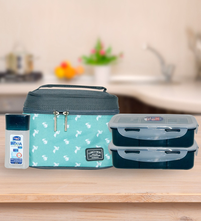Lock&Lock Multicolour Polypropylene 470 Ml Lunch Box