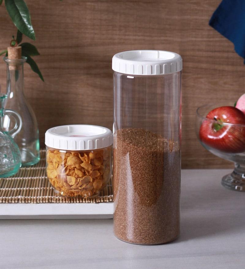 Lock&Lock Transparent Storage Container - Set of 2