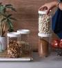 Lock&Lock Transparent 1000 Ml Dry Fruit Box- Set of 6