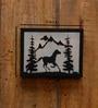 Logam Wild Horse Iron Wall Scone