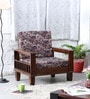 Forestville One Seater Sofa in Provincial Teak Finish by Woodsworth