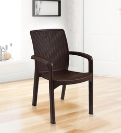 Luxury Chair In Brown Colour - 1622018