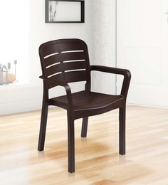 Luxury Chair In Brown Colour - 1622009