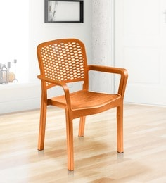 Luxury Chair In Orange Colour