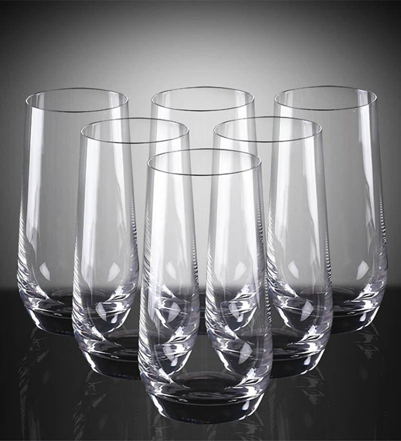 cbf1187dcf Buy Lucaris Hong Kong Hip Glass 460 ML Tumblers - Set of 6 Online ...