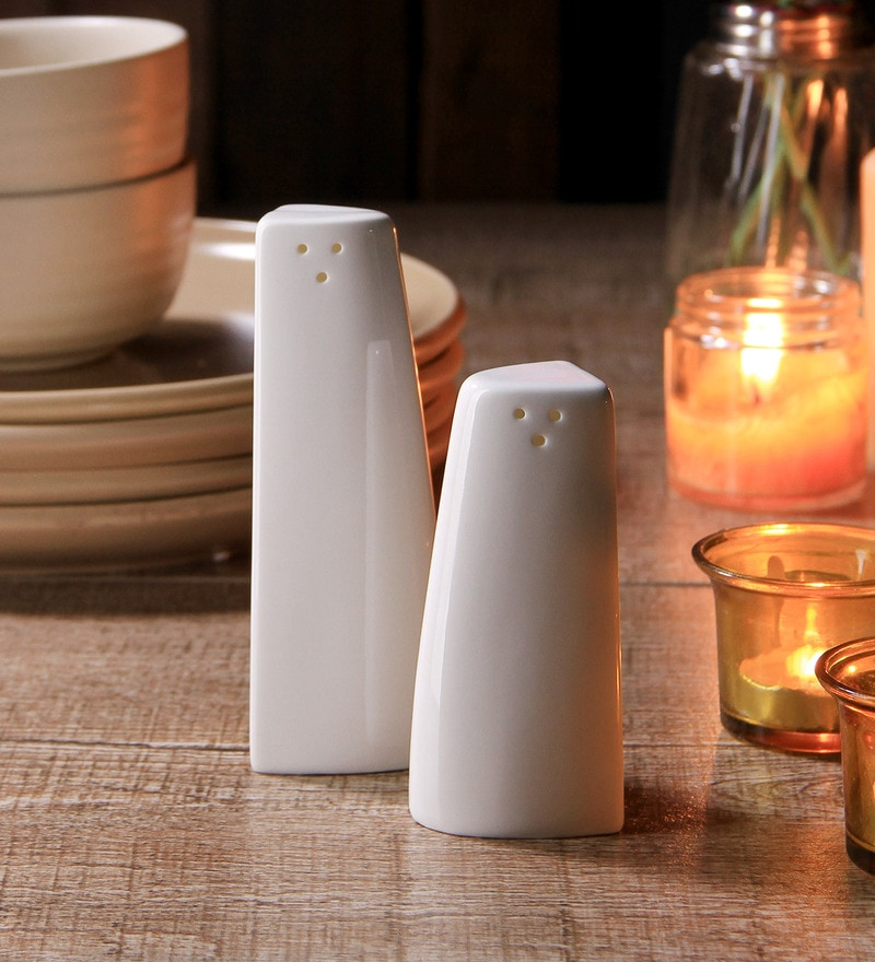 Luigi Bormioli Rectangle 150 ML Salt & Pepper Shaker