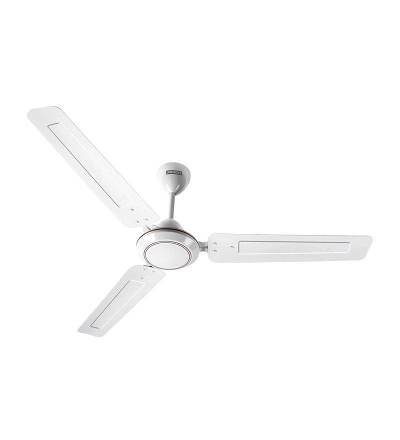 Luminous Josh White Ceiling Fan