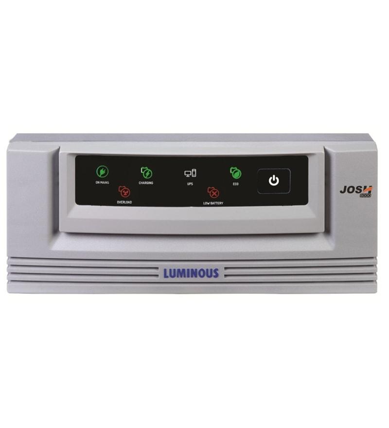 Luminous Josh 8000 180V-230V Inverter for up to 600W