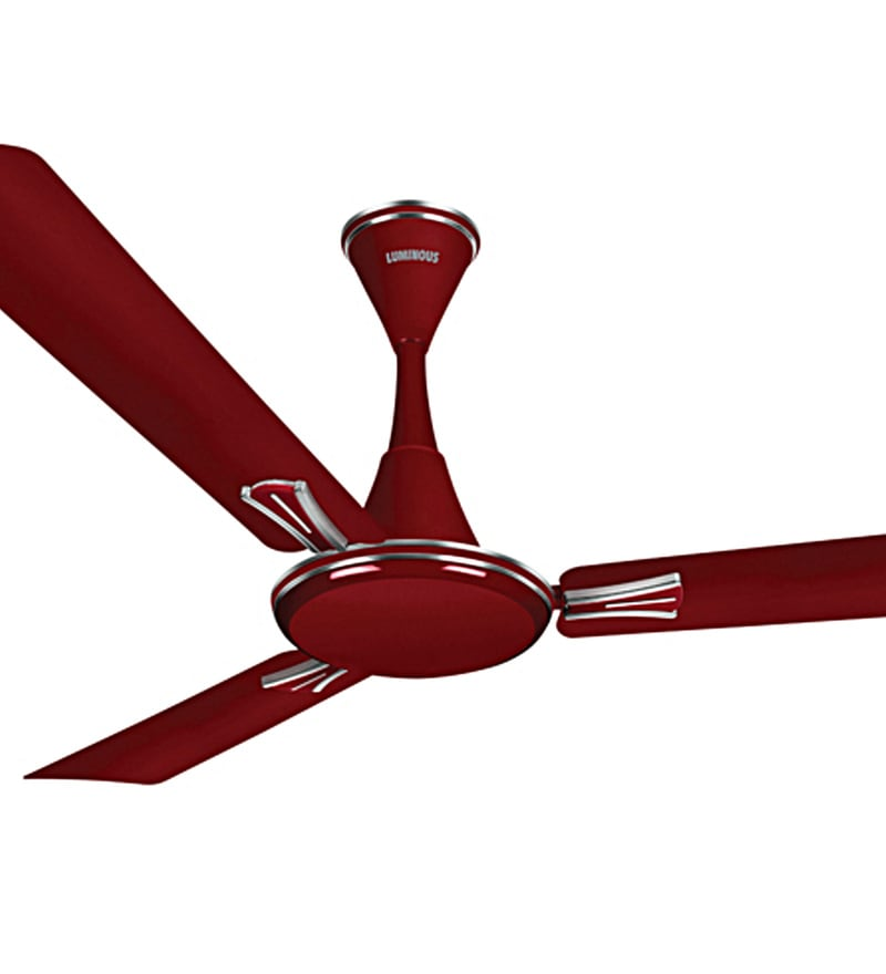 Buy luminous audie 1200 mm berry red ceiling fan online ceiling click to zoom inout aloadofball Images
