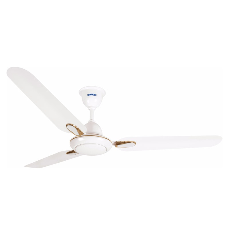 Luminous Dhoom White 1200 mm Ceiling Fan