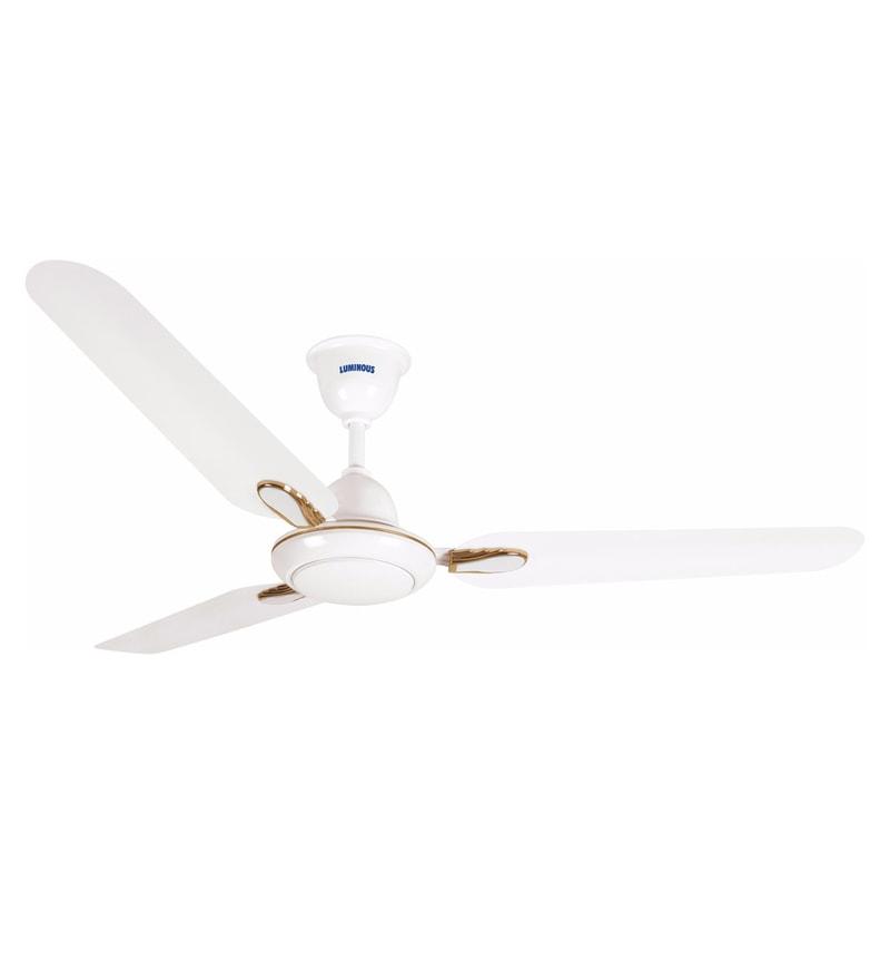 Luminous Dhoom White 1200 mm Ceiling Fan