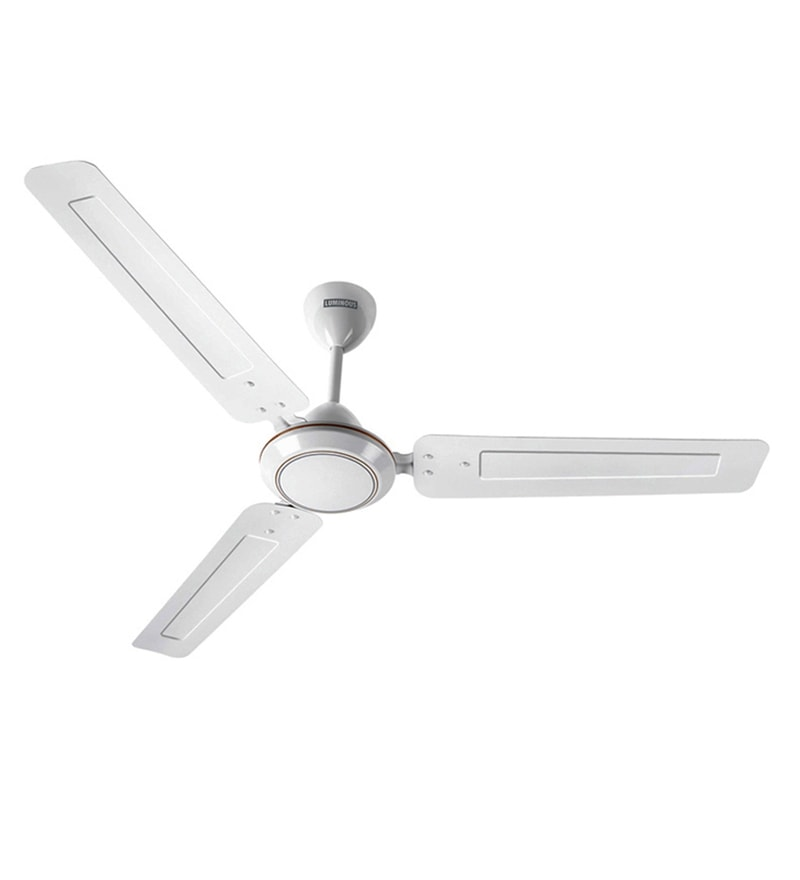Luminous Morpheus 1200 Mm White Ceiling Fan