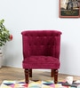 Ludovic Accent Chair in Honey Oak Finish by Amberville