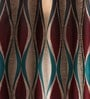 Lushomes Multicolour Jacquard 54 x 90 Inch Door Curtains with Eyelets  -1 Piece