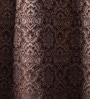 Multicolour Jacquard 54 x 90 Inch Door Curtains with Lining -1 Piece by Lushomes