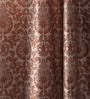 Multicolour Jacquard 54 x 90 Inch Solid Door Curtains with 8 Eyelets -1 Piece by Lushomes