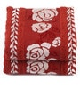 Lushomes Rust Cotton 16 x 24 Hand Towel - Set of 2