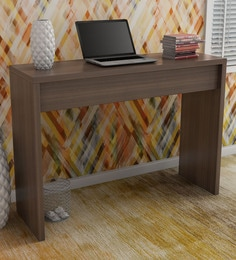 office wooden table classic machi study desk in nut brown finish buy and wooden laptop tables online at best prices shop from