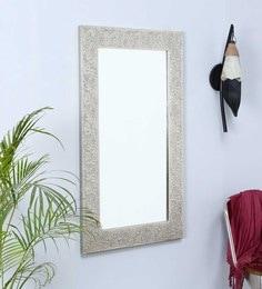 Made Wood White Sheesham Wood Mirror