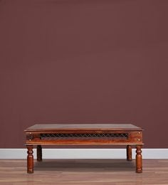 Marquess Large Coffee Table In Honey Oak Finish By Amberville