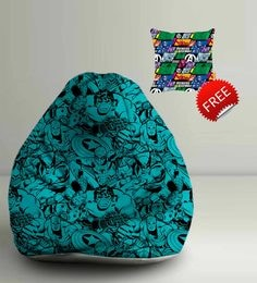 Marvel Avengers Comics Digital Printed Bean Bag XXL Filled With Beans