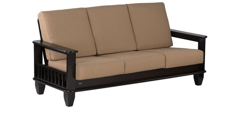 Buy Manhattan Three Seater Sofa In Cappuccino Colour By