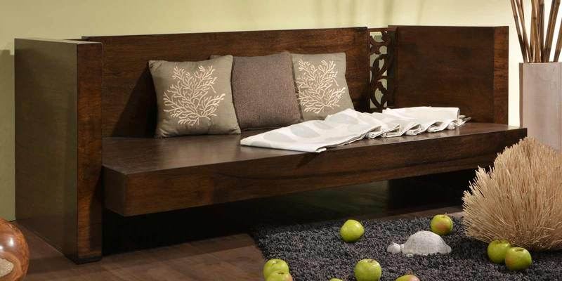 Mariano Daybed in Americano Finish by Casacraft