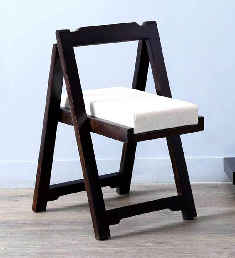 Madison Folding Chair in Warm Chestnut Finish by Woodsworth