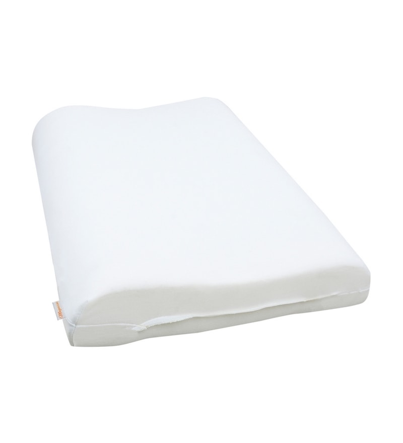 White Memory Foam 17 x 24 Pillow Insert by Magasin