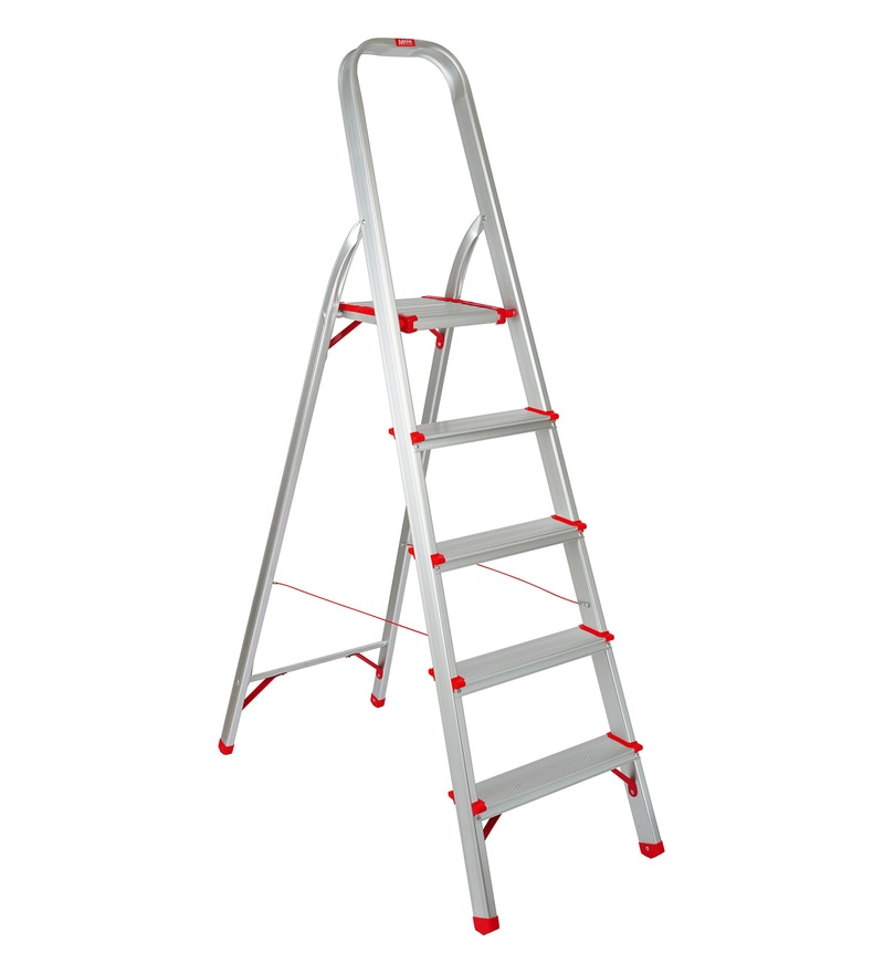 Magna Aluminium 5 Steps 3.3 FT Light Weight High Strength Ladder