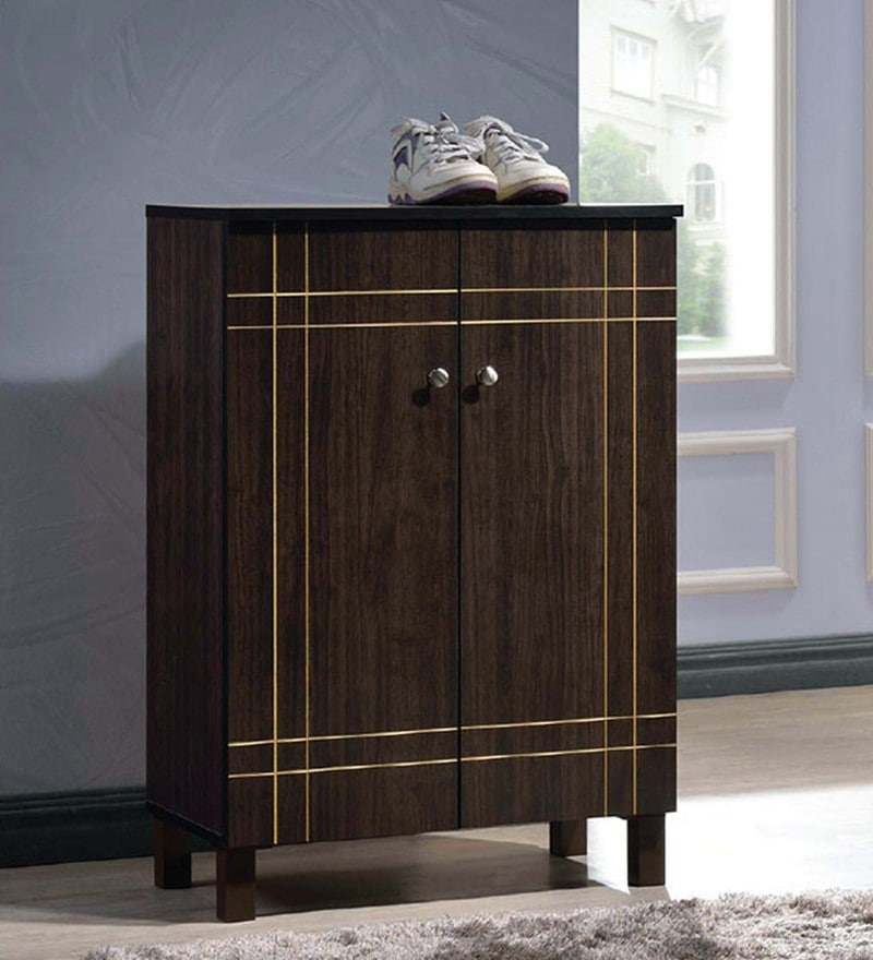 Maho Shoe Cabinet in Wenge Finish by Mintwud