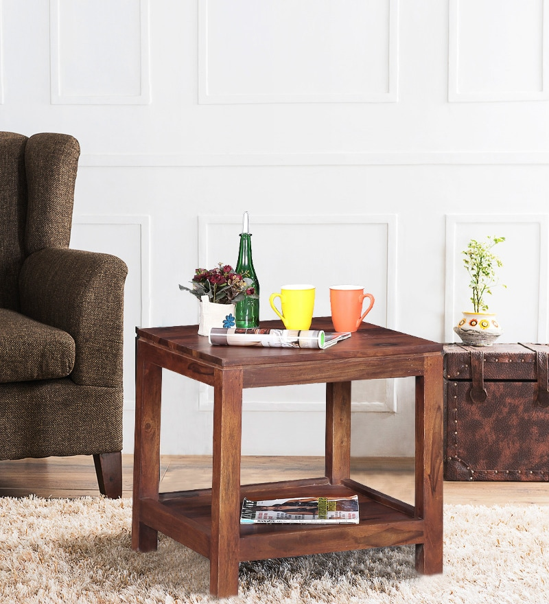 Toledo Coffee Table in Provincial Teak Finish by Woodsworth