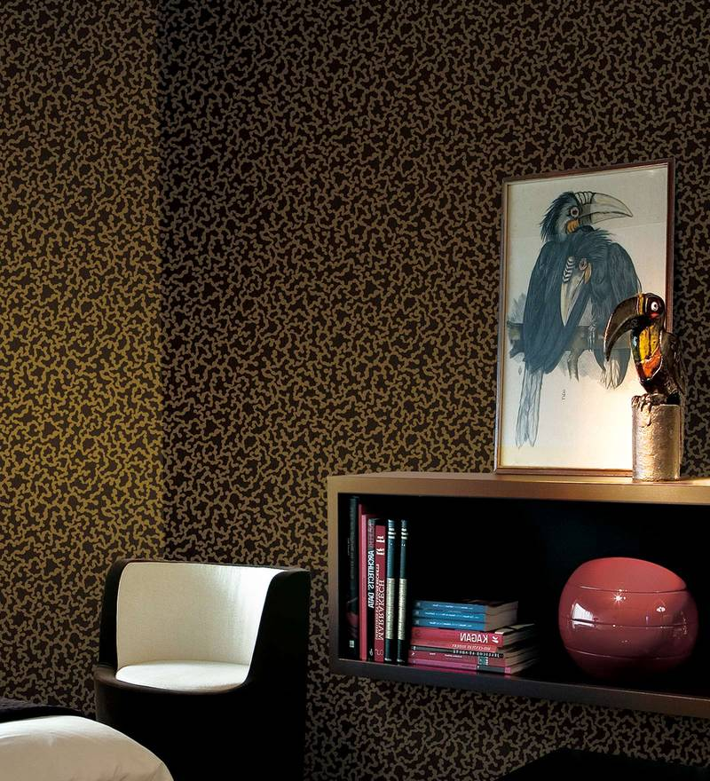 gold brown paper backing wallpaper by marshalls wallcoverings